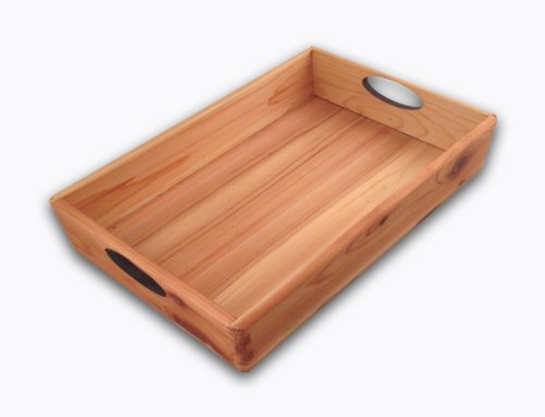 Kelly Craig Cedar Tray, Large