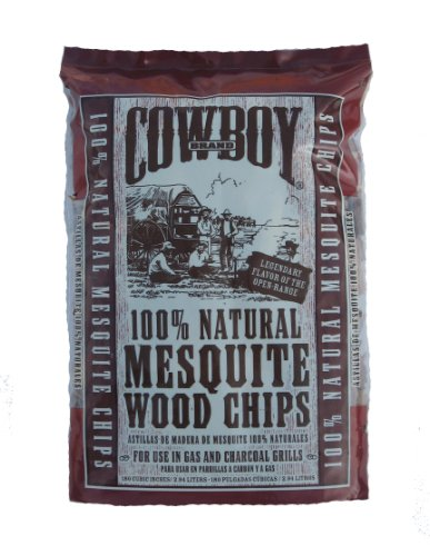 Cowboy 180 Cubic Inch Mesquite Wood Chips