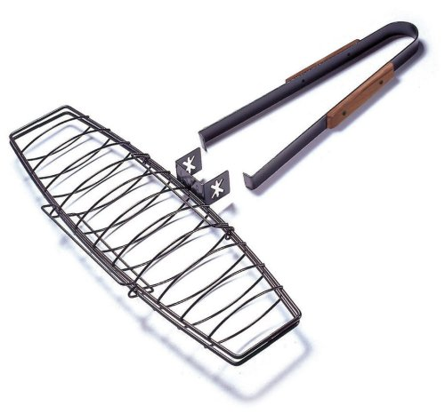 Charcoal Companion Ultimate Nonstick Fish-Grilling Basket