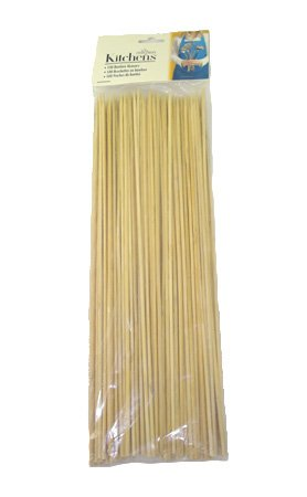 Fox Run Bamboo Skewers, 12-Inch