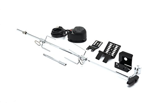 GrillPro 60090 Universal Heavy Duty Rotisserie Kit for Grills
