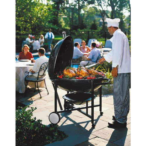 Weber 60020 The Ranch Charcoal Kettle Grill