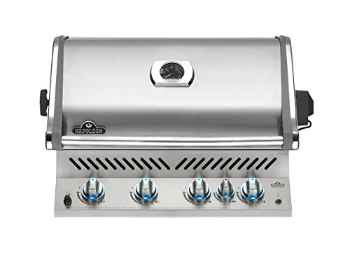 Napoleon BIPRO500RBPSS Built-In Prestige PRO Propane Grill, Stainless Steel