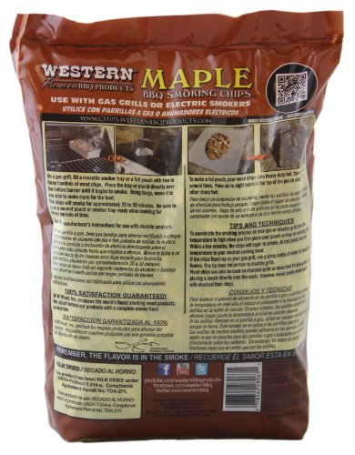 WESTERN 28067 Maple BBQ Smoking Chips