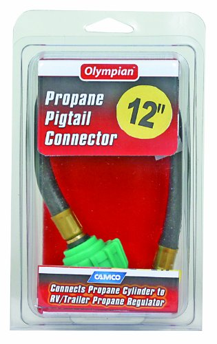 Camco 59053 12″ Pigtail Propane Hose Connector