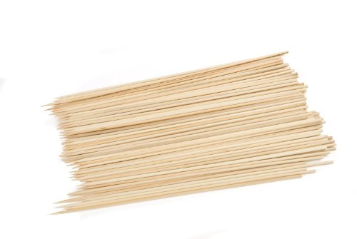 Winco WSK-06 Bamboo Skewers, 6-Inch