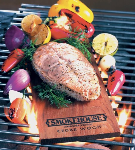 Smokehouse Products Cedar Flavored Natural Grilling Plank, 3-Pack