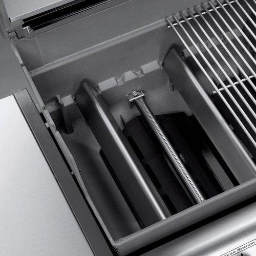 Weber Genesis 6611001 E-310 637-Square-Inch 38,000-BTU Natural-Gas Grill, Black