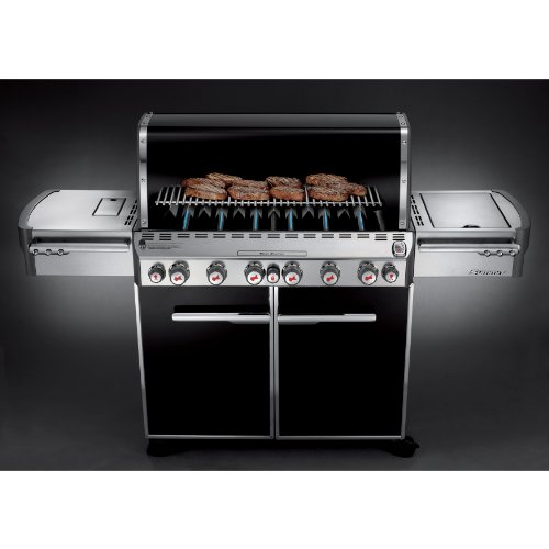 Weber Summit 7471001 E-670 769-Square-Inch 60,800-BTU Natural-Gas Grill, Black