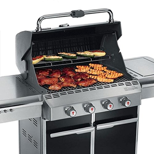 Weber Summit 7221001 E-420 650-Square-Inch Natural-Gas Grill, Black