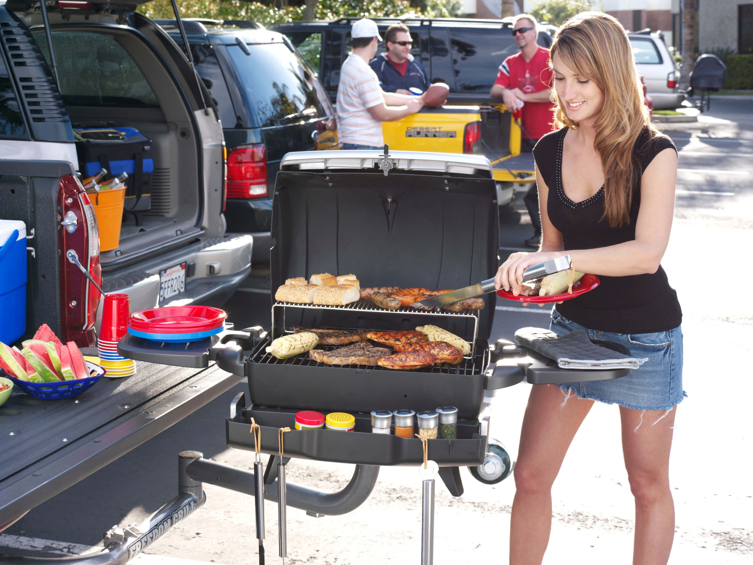 Delicious Tailgating Grilling