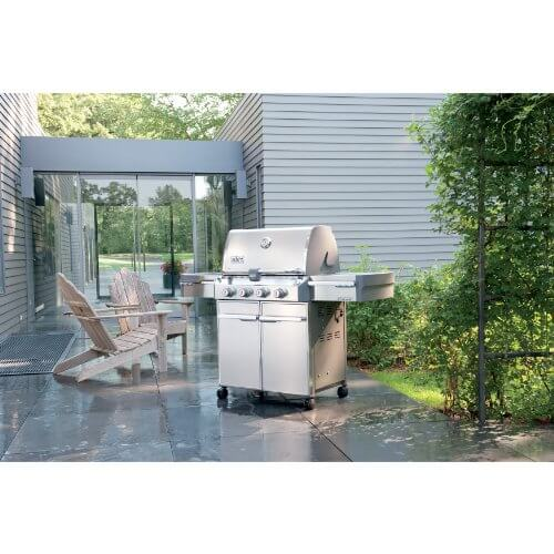 Weber Summit 7120001 S-420 Stainless-Steel 650-Square-Inch 48,800-BTU Liquid-Propane Gas Grill