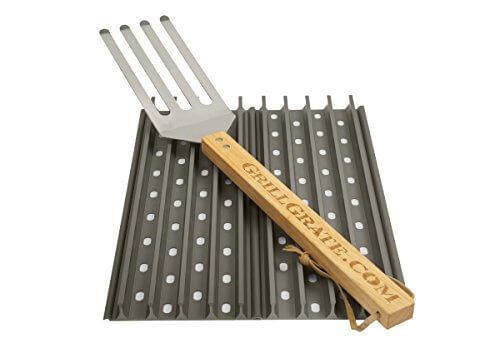 Set of Two 13.75″ GrillGrates (interlocking)+Grate Tool