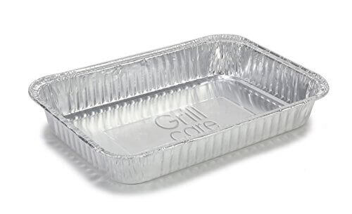 Grill Care 16415 Foil Drip Pans Compatible with Weber Q, Spirit, and Genesis Grills