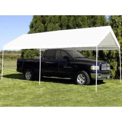 King Canopy Universal Canopy – 10 by 20 -Feet, 6 Leg, White