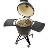 Primo Grills and Smokers 773 All-in-One Kamado Round Grill with Cradle Shelves, Ash Tool and Lift