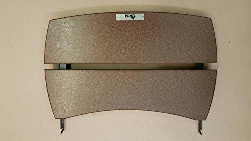 hdpe solid shelves for large big green egg. Black Bedroom Furniture Sets. Home Design Ideas