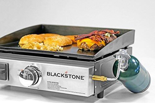Portable Griddle Gas Grill For Outdoors And Camping