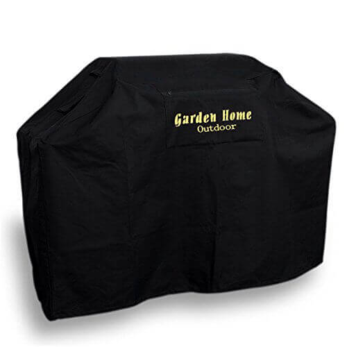 Garden Home Outdoor Heavy Duty Grill Cover 3 Year Warranty, 68″, Black