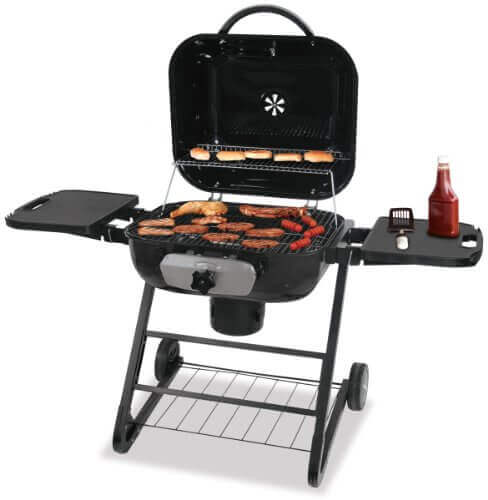 Blue Rhino CBC1255SP Deluxe Outdoor Charcoal Barbeque Grill