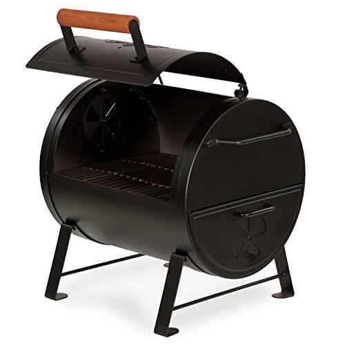 Char-Griller 2-2424 Table Top Charcoal Grill and Side Fire Box