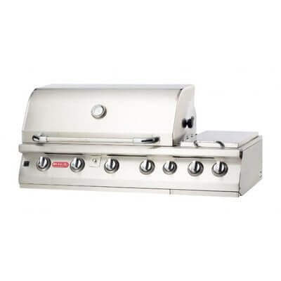 47″ 7 Burner Premium Built-In Gas Grill Fuel Type: Natural Gas
