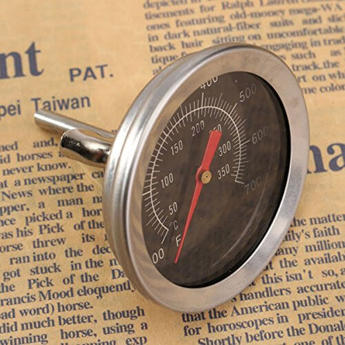 """Stainless Steel Camping BBQ Grill Barbecue Camp Smoker Pit Cooking Thermometer"" shopping"
