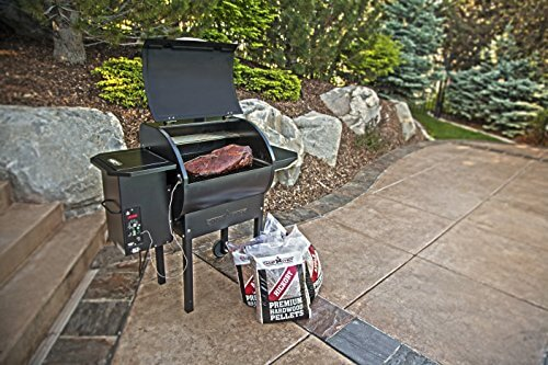 Camp Chef Bag of Premium Hardwood Applewood Pellets for Smoker, 20 lb.