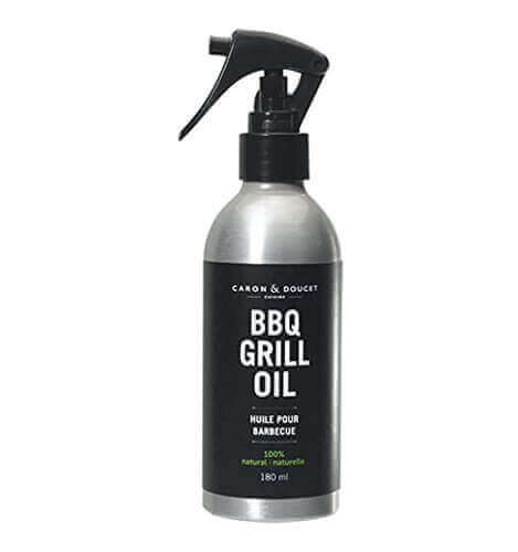 Caron & Doucet – BBQ Grill Cleaner Spray / Stainless Steel BBQ Grill Cleaner Concentrate – 100% Plant Based, Non-toxic & Food Safe – BBQ Gift Idea for Dad.