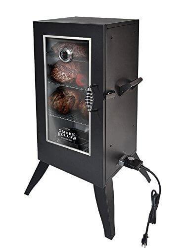 Smoke Hollow Electric Smoker with Window, 30″, Black
