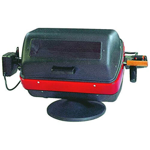 Easy Street Electric Tabletop Grill with easy-view window and rotisseri