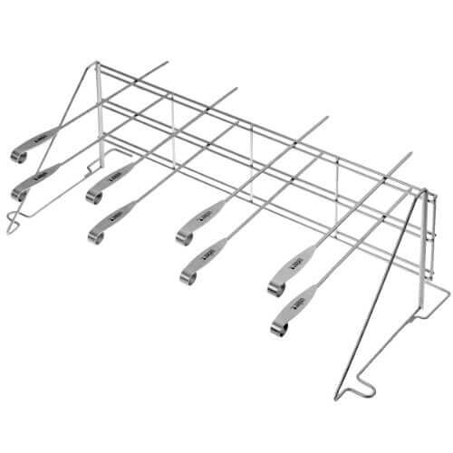 Weber 7615 Elevations Tiered Cooking System Grill Rack and Skewer Set