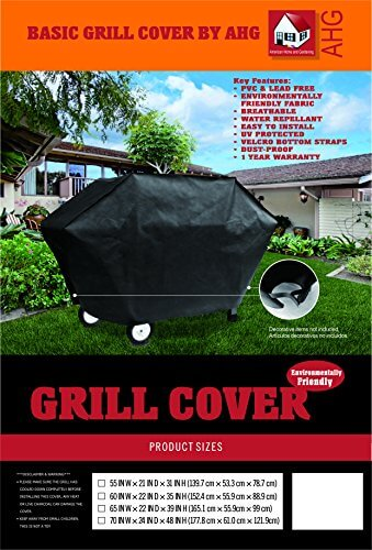 American Home and Gardening Basic BBQ Grill Cover – 55″