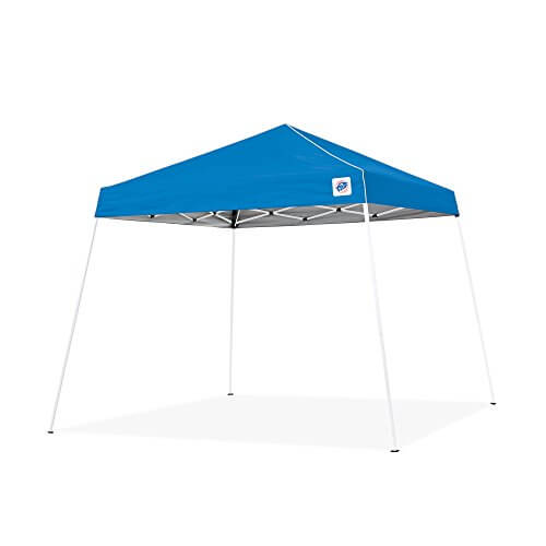 E-Z UP Swift Instant Shelter Pop-Up Canopy,  10 x 10 ft Blue
