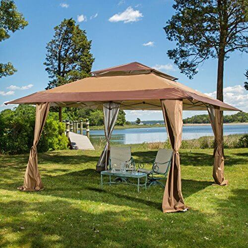 - 13 X 13 Pop-Up Canopy Gazebo. Great For Providing Extra Shade For Your