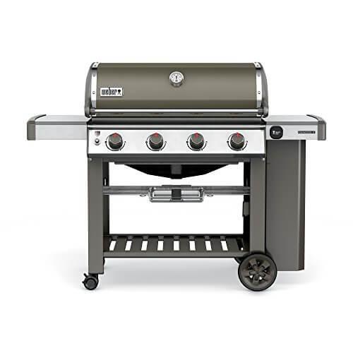 Weber 62050001 Genesis II E-410 Liquid Propane Grill, Smoke