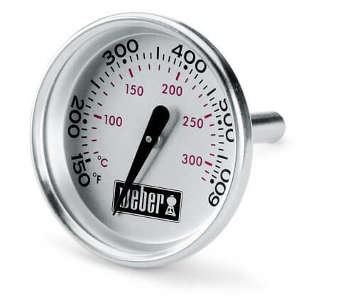 Weber 60540 Charcoal, Spirit, Q Grill Replacement Thermometer, 1-13/16″ Diameter