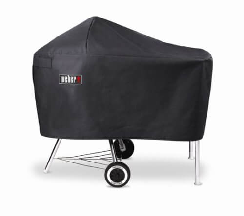 Weber 7454 Vinyl Cover, Fits Charcoal Grills with Work Table