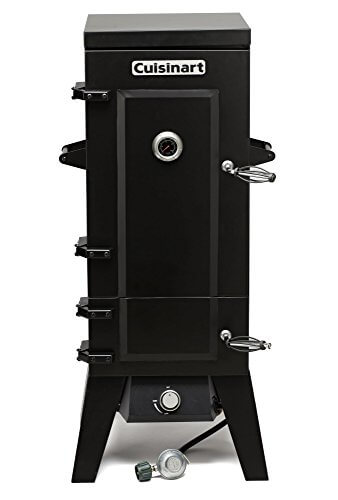 Cuisinart COS-244 Vertical 36″ Propane Smoker, Black