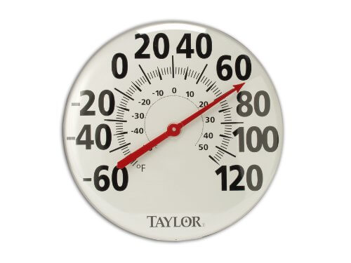 Taylor Precision Products Patio Thermometer (18-Inch)