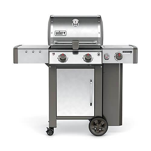 Weber 60004001 Genesis II LX S-240 Liquid Propane Grill, Stainless Steel