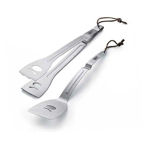 Weber 6515 Q Stainless Steel 2-Piece Tool Set