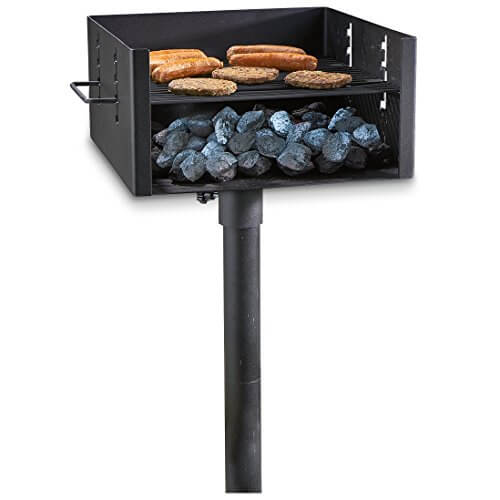 Guide Gear Heavy-Duty Park Style Charcoal Grill Large