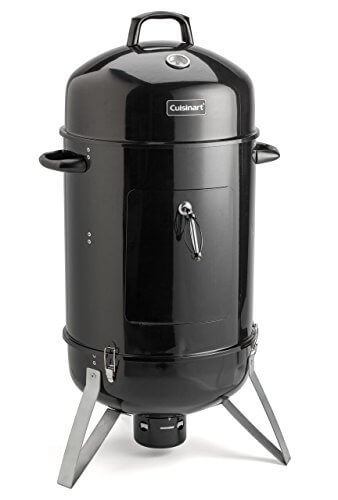 Cuisinart COS-118 Vertical 18″ Charcoal Smoker, Black