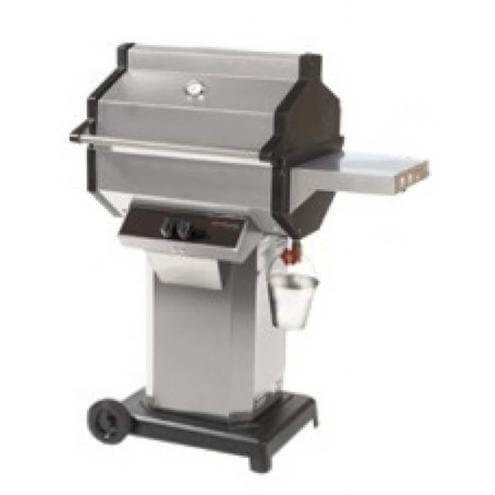 Phoenix Sdssocp Stainless Steel Propane Gas Grill Head On Stainless Steel Cart With Aluminum Base