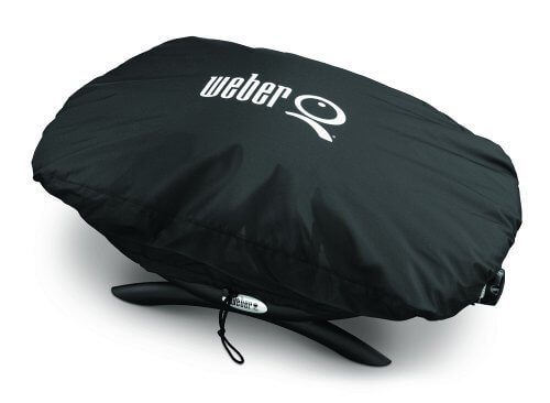 Weber Grill Cover – 7110 – Black – (Fits Q1000 Series)