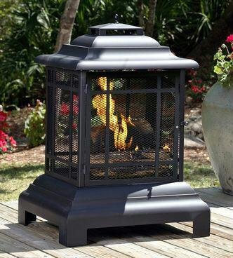 Exclusive By Fire Sense Fire Sense Rectangle Pagoda Patio Fireplace