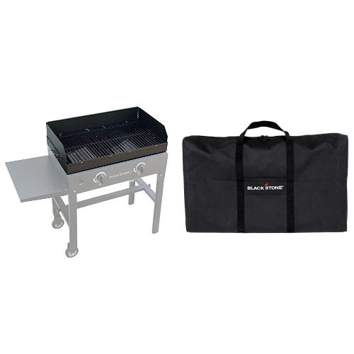 Blackstone 28 Inch Grill Top Accessory for 28 Inch griddle with Carry Bag