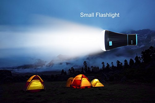 2 Pack LED Tent Light Bulb Lantern Flashlight for Camping Hiking Fishing Emergency Light, 18650 or AAA Battery Powered Portable Camping Lamp by SlimK