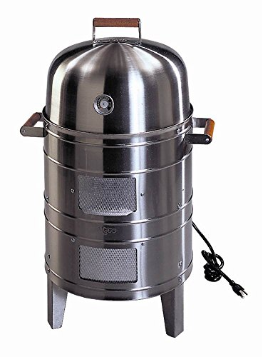 Southern Country Smokers Stainless Steel Electric Water Smoker with 2 levels of cooking surface